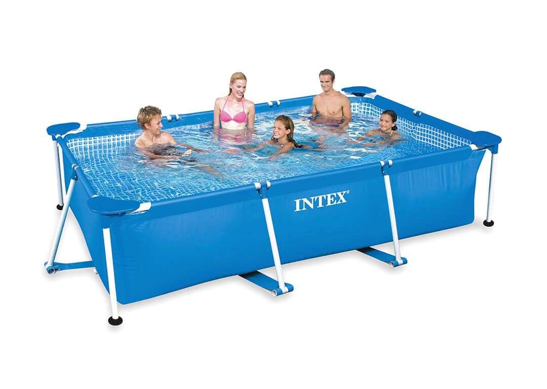 Jumpking buy online intex swimming pool 9 8 6 6 ft - A rectangular swimming pool is 30 ft wide ...