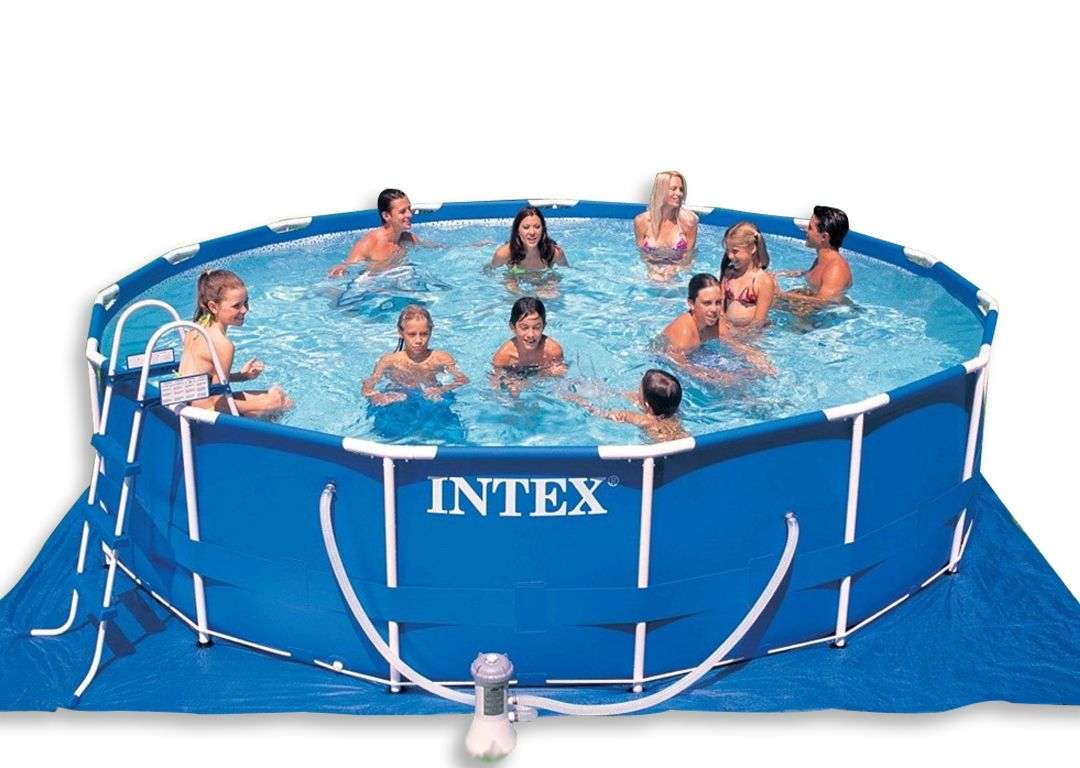 Jumpking india buy online intex 18 feet metal swimming for Buy swimming pool