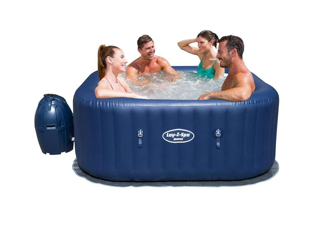 Buy Bestway Lay-Z-Spa Portable Inflatable Hot Tub | Jumpkingindia.com