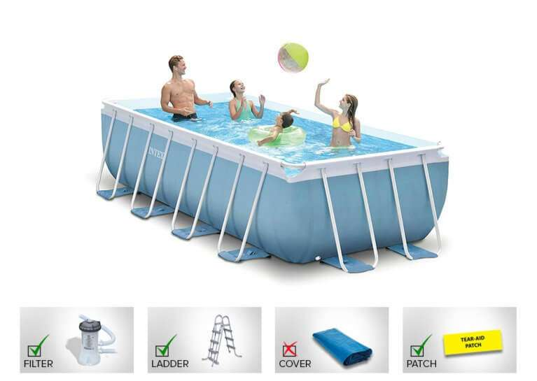 Intex rectangular pool 26778
