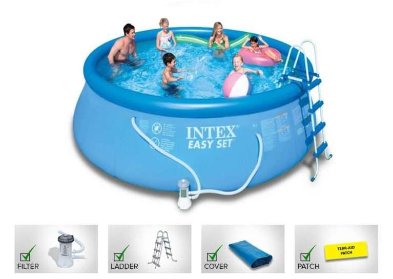 Buy Intex Swimming Pool 18 Feet Inflatable 18i4a Jumpkingindia Com